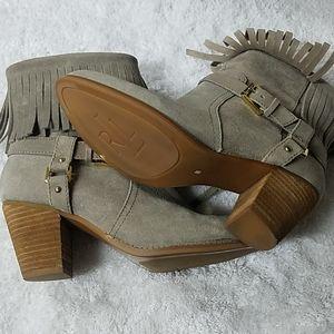 Ralph Lauren Collection Women's Tan Ankle Boots